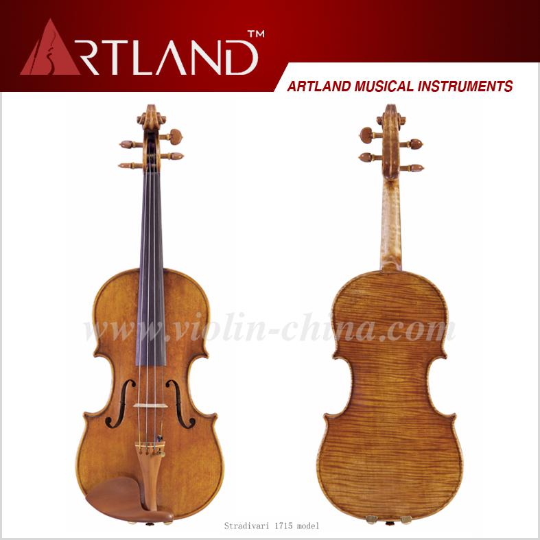 China violins vintage abalone